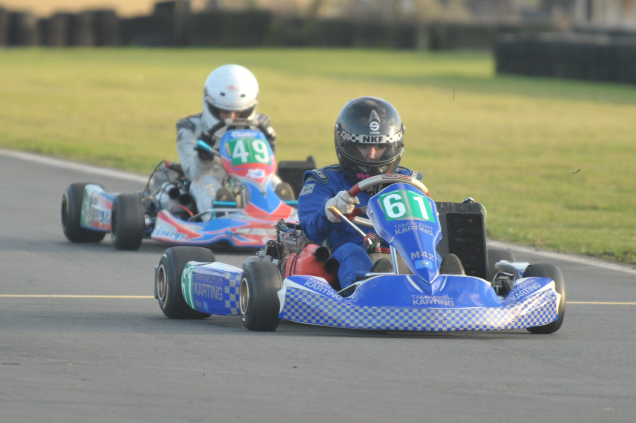 Karting photos from Rissington Kart Club, November