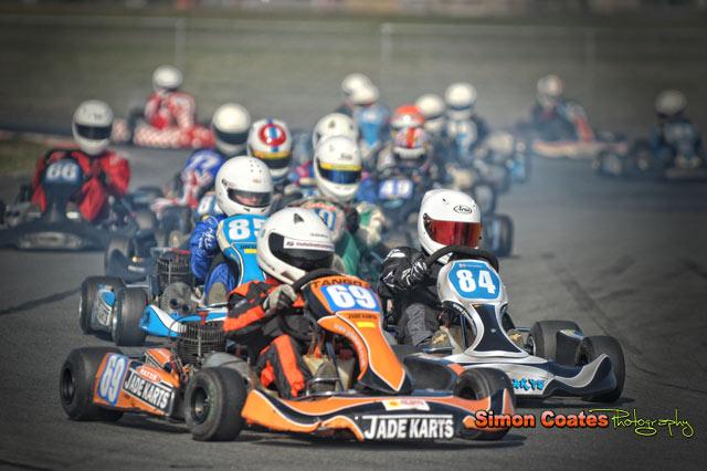 Karting photography by Simon Coates