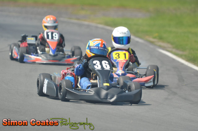 Cadet Karts racing at Rissington