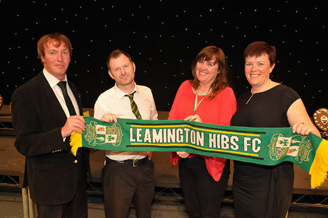 Leamington Hibs and Joanne Malin