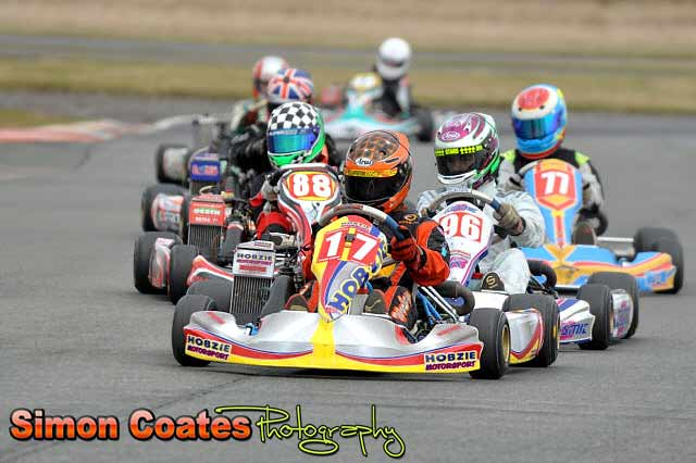 Karting photos from Rissington in March 2013