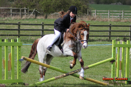 Hartshill Riding Club April Show Jumping Photo