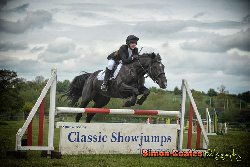 Show jumping at Hartshill Riding Club Show