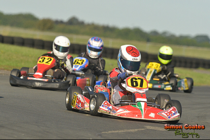 Karting photos from Rissington Kart Club October
