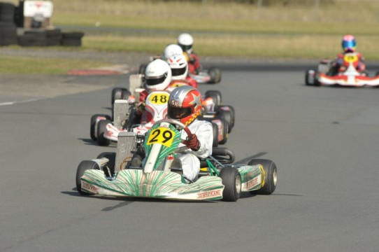 Rissington Kart Club, Round 8. October 2011