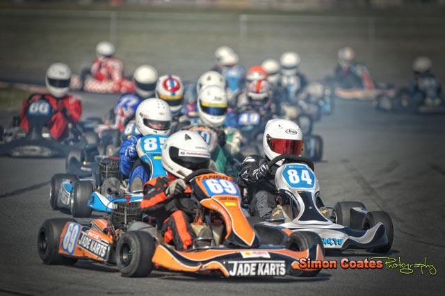 Karting photography by Simon Coates