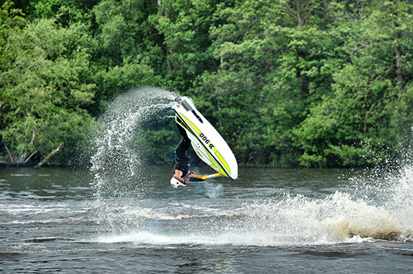 Jet Ski action at Cholmondeley Pageant of Power 2012