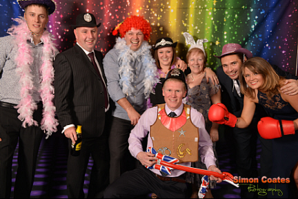 Persimmon Homes Christmas Party Photo booth pictures