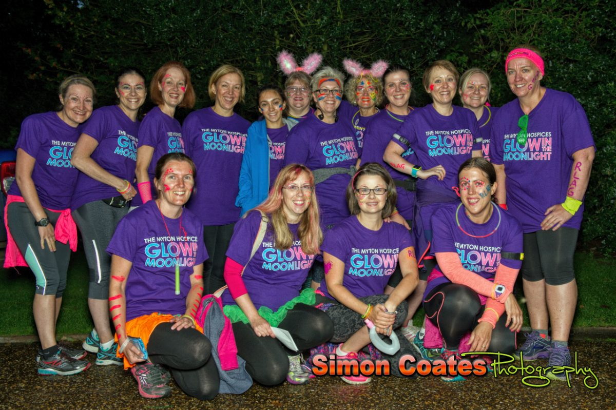 Photos from the Myton Hospices Moonlight Glow Walk, Warwick Castle