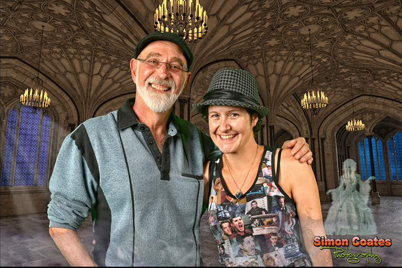 John Jaffis & MJ Dickson at Sage Paracon 2017 Warwick Castle